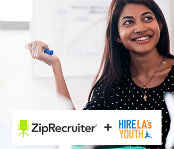 ZipRecruiter and Hire La's Youth