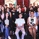 EWDD BusinessSource Director Richard Pallay shared tips on how to launch a business in LA with young entrepreneurs