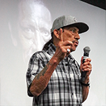 Actor Danny Trejo speaks to YouthSource participants at the inagural YouthSource Center 'A Conversation With...' series