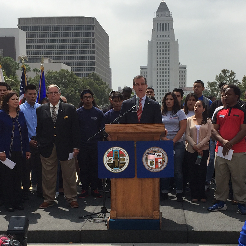 City, County Launch 2016 Hire La's Youth Summer Jobs Initiative