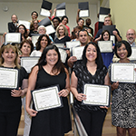 LA Valley College and the Canoga Park/South Valley WorkSource Center celebrated the 30 graduates from the Human Resource Assistant Academy on August 24, 2018