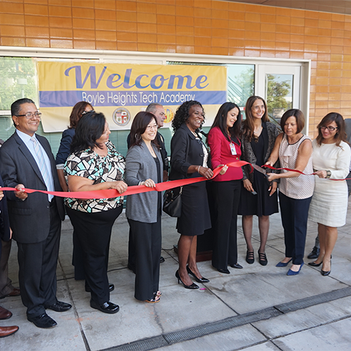 Boyle Heights Tech Academy Launched