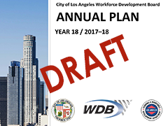 Draft WDB Year 18 Annual Plan