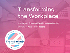 Transforming the Workplace: Los Angeles Trans and Gender Nonconforming Workplace Assessment report cover