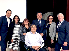 City of Los Angeles Workforce Development Board officers at the July 2019 annual meeting