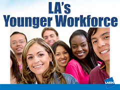 LA's Younger Workforce