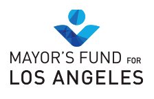 Mayor's Fund Los Angeles logo and website link
