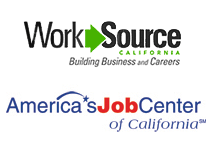 WorkSource California and America's Job Centers of California logos